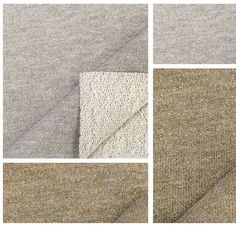 USA Made Premium Quality French Terry Knit Fabric by EagleFabrics
