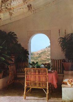 Painter Dan Rasmussen's home in Costa Brava - Benisa. Spain