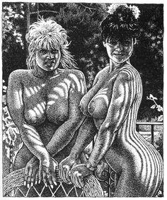 R. Crumb davidcharlesfoxexpressionism.com #robertcrumb #cartoons #illustrator