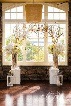 White Flowers Altar