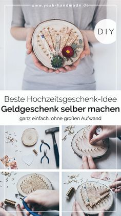 DIY money gift for wedding tinker - DIY Geschenke - Handmade Wooden Gifts, Wooden Diy, Don D'argent, Creative Wedding Gifts, Money Gift Wedding, Diy Cadeau, Make Your Own, Make It Yourself, Diy Gifts