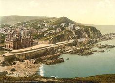 Devon, Ilfracombe, from Capstone in the 1890's