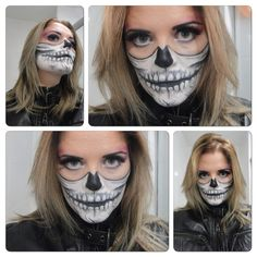 #makeuphalloween #santacuruja www.facebook.com/santacoruja