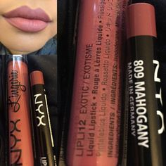Lip combo: love this on me!