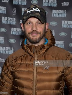 Tom Hardy arrives for 'Bear Grylls: Endeavour' at SSE Arena Wembley on October 7, 2016 in London, England.