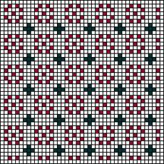 Campo Flor Stitch Chart