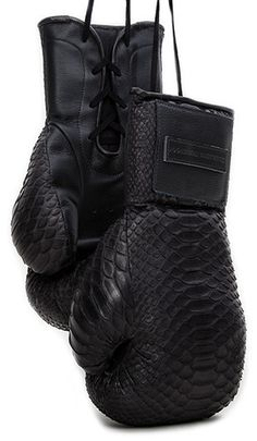 Manila Snakeskin Boxing Glove - Elizabeth Weinstock
