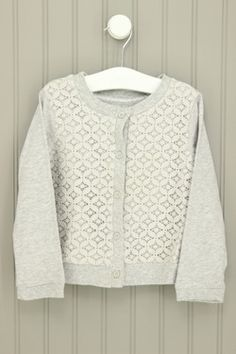 Carter's Size 3T Lace Over Cardigan