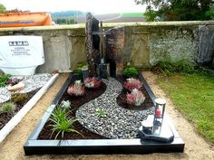 References – grave diggers – double graves – Miracles from Nature Front Garden Landscape, Landscape Design, Garden Design, Garden Pool, Cemetary Decorations, Cemetery Headstones, Hydrangea Care, Planting Shrubs, Garden Pictures