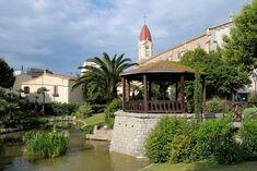Le parc Saint Pierre L'église Saint Pierre #LovePalavas