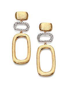 Enamel Jewelry, Pearl Jewelry, Gold Jewelry, Jewelery, Jewelry Accessories, Jewelry Design, Gold Drop Earrings, Women's Earrings, Bling Bling
