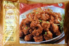 Another Trader Joe's favorite of mine....Mandarin Orange Chicken.  Try it!  Great quick meal and it is restaurant quality.  One of their best sellers.  :)