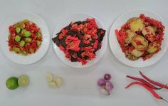 jual sambalado merah restumande Padang, Yogyakarta, Bruschetta, Bali, Ethnic Recipes, Food, Eten, Meals, Diet
