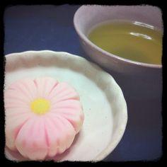 japanese flower cake