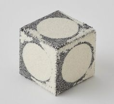 Hand Embroidered Wool Cubes Explore The Passing Of Time