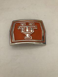 University of Tennessee Volunteers Belt Buckle Unbranded Orange Enamel University Of Tennessee, Tennessee Volunteers, Chevrolet Logo, Belt Buckles, It Cast, Enamel, Orange, Link, Clothing