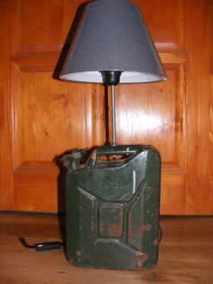 Gasoline canister lamp