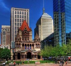 the trinity church in boston, massachusetts