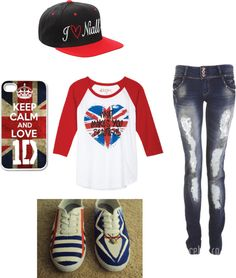 """""""directioner"""" by stl-gomiiverde ❤ liked on Polyvore"""