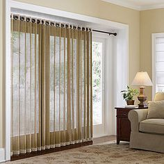 JCPenney Home™ Naples Grommet-Top Bamboo Panel - JCPenney