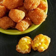 Molly's Kitchen® Battered Sweet Corn Nuggets come frozen and ready to fry for a great fried appetizer Savoury Finger Food, Finger Foods, Corn Nuggets, Sweet Corn, Fries, Appetizers, Pumpkin, Om, Ethnic Recipes