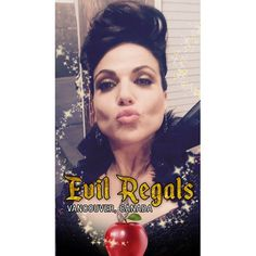 Lana Parrilla (@lparrilla) Instagram: «At #OUATVan Con this weekend? Look out for the #EvilRegals Snapchat filter only available at the…»