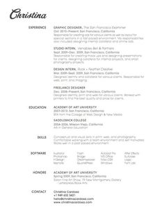 27 beautiful rsum designs youll want to steal - Deciding On The Resume Format
