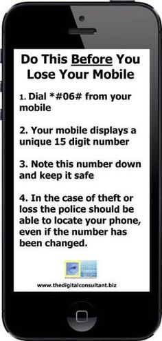 Do This Before You Lose Your Phone