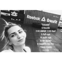 """94 gilla-markeringar, 2 kommentarer - Reebok CrossFit Miami Beach (@reebokcfmb) på Instagram: """"FriYAY   07.21.2017"""""""