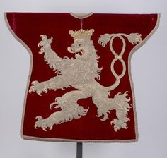 Tabard of the herald of the King of Bohemia, made in Vienna in the 17th century
