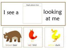 Brown Bear, Brown Bear, What do you see? Preschool Unit |