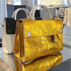 Dior Black/White and Gold Diorever Tote Bags - Spring 2016