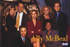 Ally McBeal (serie, 1997-2002) vooral de eerste 3 seizoenen (heb ik vooral vanaf 2005 heel vaak gekeken)
