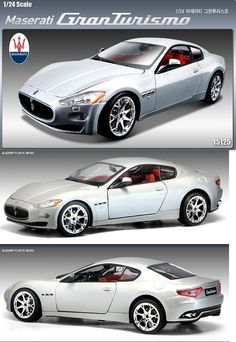Other Sports Car Models and Kits 2583: Academy 15125 Maserati Granturismo Diecast Plastic Model Kit Car 1 24 Nib -> BUY IT NOW ONLY: $34.99 on eBay!