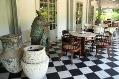 On the veranda #veranda #cafe