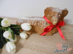 Šlehačkový beránek | NejRecept.cz Gingerbread Cookies, Stuffed Mushrooms, Vegetables, Desserts, Recipes, Gingerbread Cupcakes, Stuff Mushrooms, Tailgate Desserts, Deserts