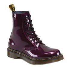 Dr Martens - 1460 Pascal Patent - Purple Violet - Womens