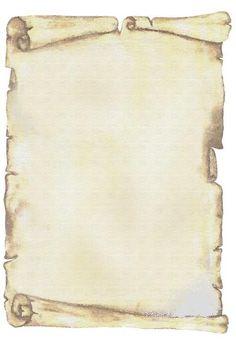 Pergaminos en blanco para imprimir - Imagui