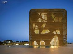 DeVillarChacón Arquitectos and Pancorbo Arquitectos used polypropylene rope to…