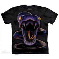 Tricouri The Mountain – Tricou Snake Strike Dojo, Billy Joel Music, Purple Snake, Big Face, Music Logo, 3d T Shirts, Mens Tees, Shirt Outfit, Casual