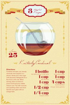 ... Pinterest | Holiday Punch Recipe, Bourbon Bar and Thanksgiving Drinks