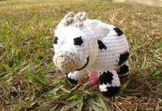 Vaca tejida con amor de http://mibruno.com/