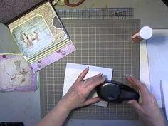 Nativity Project Mini Album- super simple and free instructions.  Z flap album.