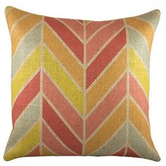 Add a splash of style to your sofa, chaise, or bed with this eye-catching pillow, the perfect companion to a glass of chardonnay and your latest book club re...