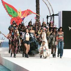 @desigual fashion show ibiza! 💃🏽💃🏽👍🏻#lovethecasting #casting #byesma #thankyouallforcoming 🔝🔝🔝