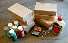 Easy Stuff to Build with Wood | How to Make Easy Wooden Christmas Stocking Holders