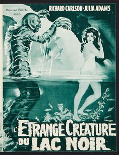 Poster for THE CREATURE OF THE BLACK LAGOON
