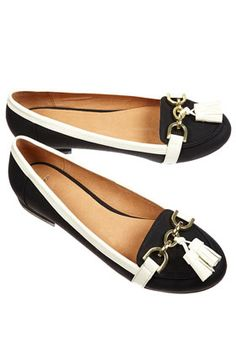 Topshop Vatican Snaffle Trim Loafers, $64, available at Topshop.