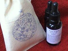 Luxury Skin Care Gift Set Argan Facial Oil & by ButterandBath, £21.00