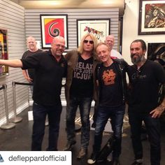Flash Back Friday with the ICJUK RELAX tee on Pawn Stars #JoeElliott #DefLeppard
